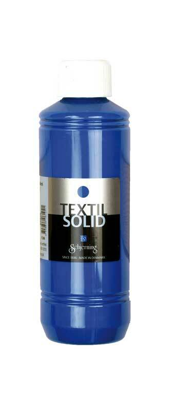 Stoffmalfarbe Textil Solid - 250 ml, brillantblau