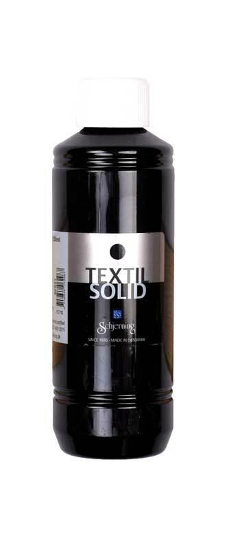 Textielverf Textil Solid - 250 ml, zwart