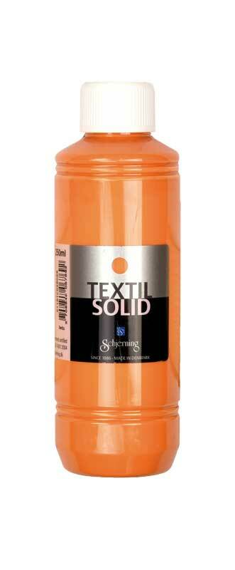 Stoffmalfarbe Textil Solid - 250 ml, orange