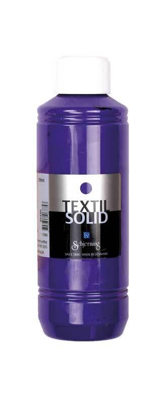 Textielverf Textil Solid - 250 ml, violet