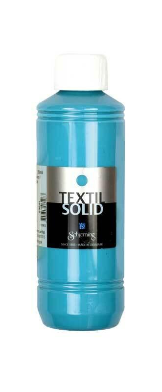 Stoffmalfarbe Textil Solid - 250 ml, türkis
