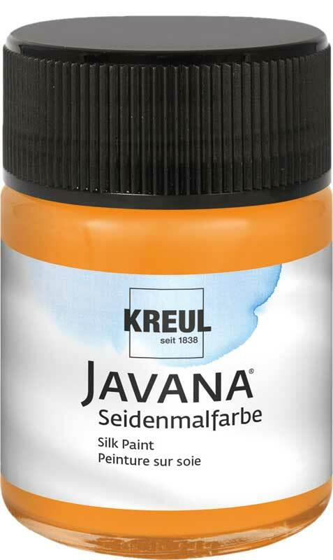 Javana Seidenmalfarbe - 50 ml, orange
