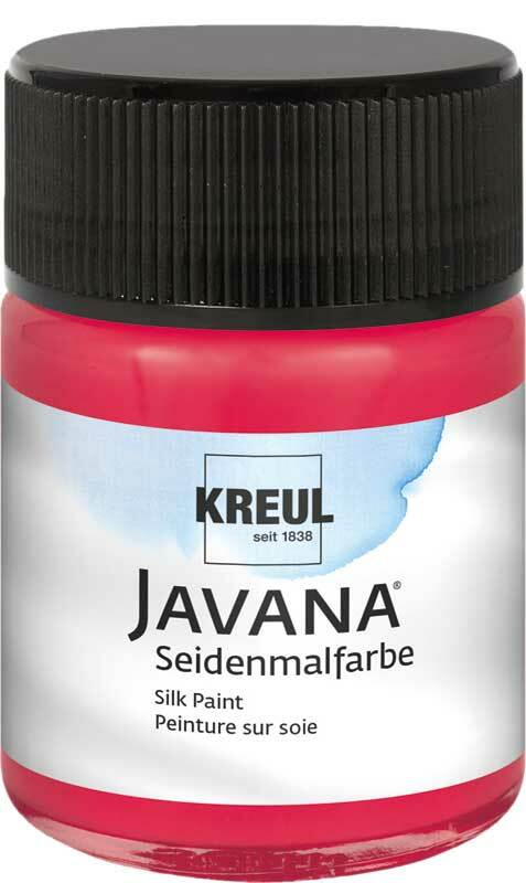 Javana Seidenmalfarbe - 50 ml, cherry