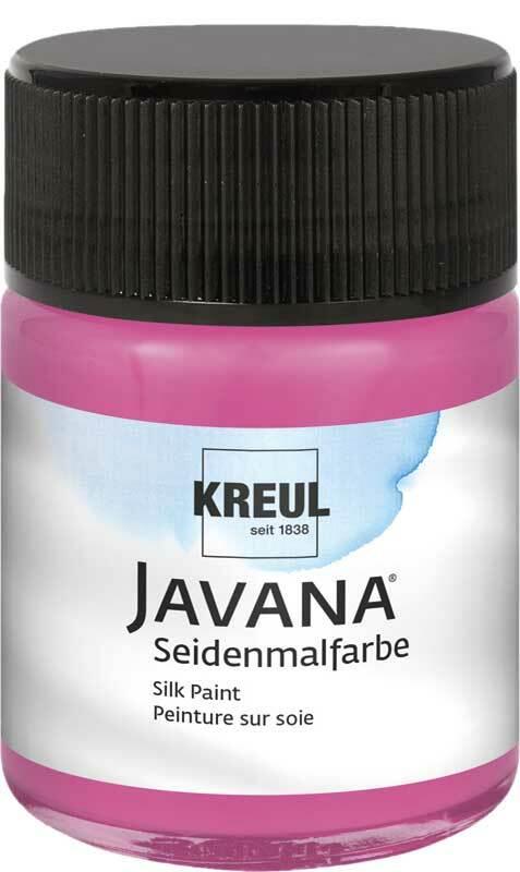 Javana Peinture sur soie - 50 ml, magenta