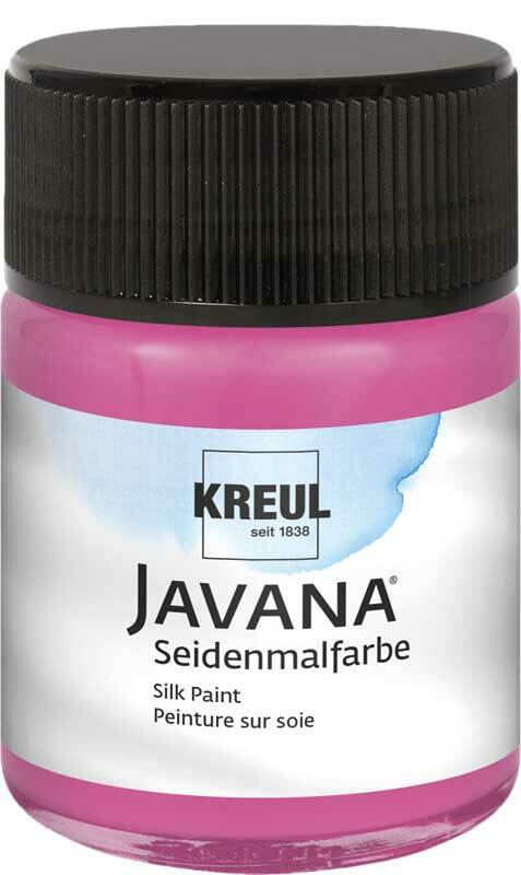 Javana Seidenmalfarbe - 50 ml, magenta