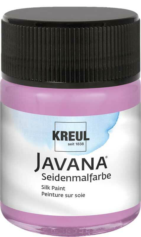 Javana Seidenmalfarbe - 50 ml, flieder