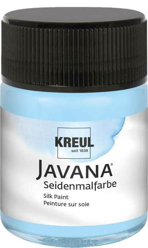 Javana Seidenmalfarbe - 50 ml, himmelblau
