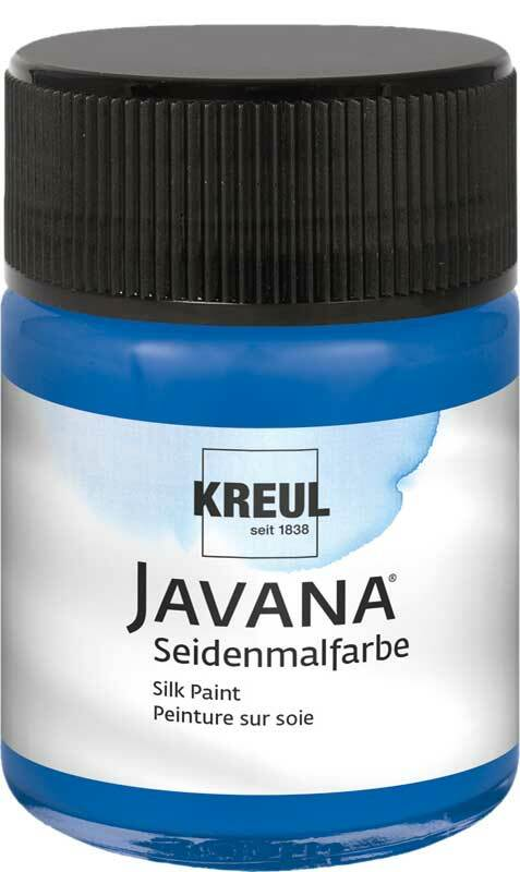 Javana Seidenmalfarbe - 50 ml, royalblau