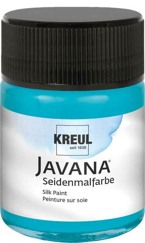 Javana zijdeverf - 50 ml, turkoois