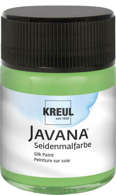 Javana Seidenmalfarbe - 50 ml, grün