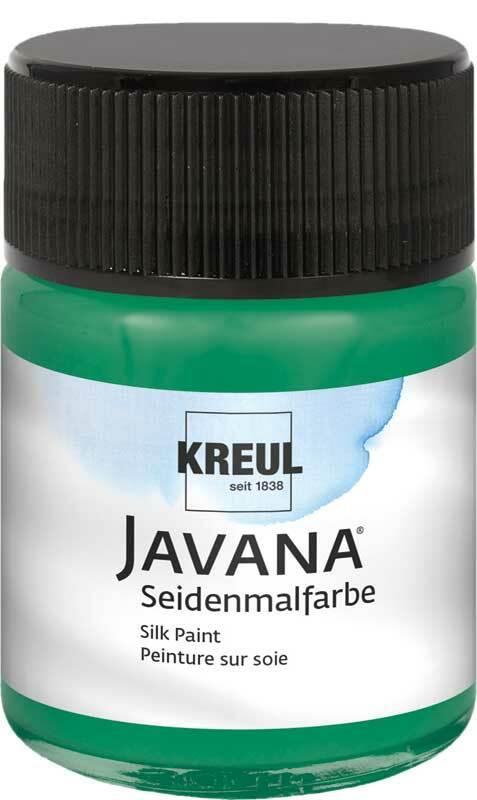 Javana zijdeverf - 50 ml, donkergroen