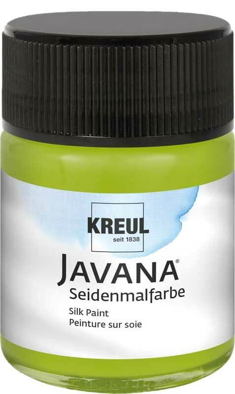 Javana zijdeverf - 50 ml, meigroen