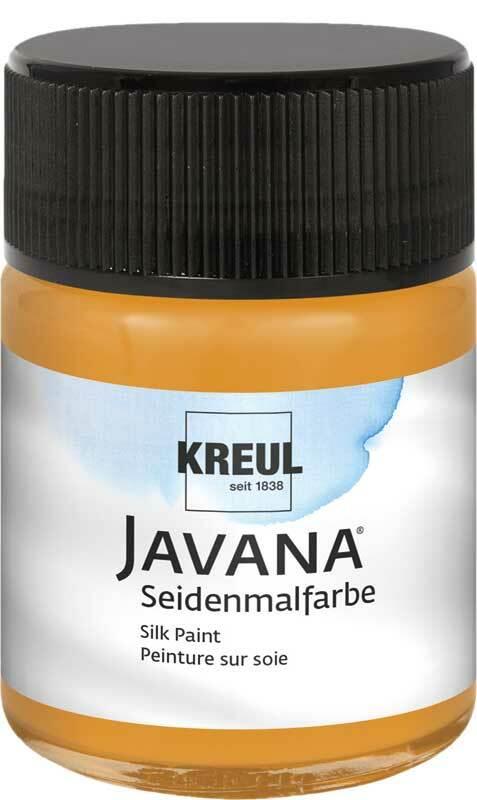 Javana Seidenmalfarbe - 50 ml, cognac