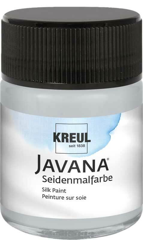 Javana Seidenmalfarbe - 50 ml, silbergrau