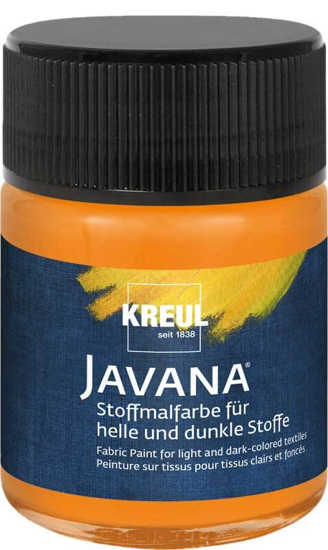 Javana textielverf opaak - 50 ml, oranje