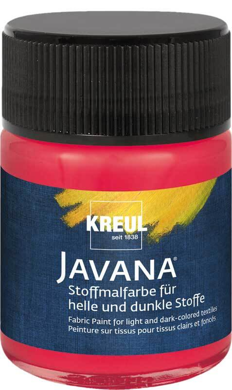 Javana textielverf opaak - 50 ml, cherry
