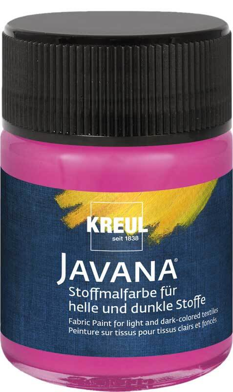 Javana textielverf opaak - 50 ml, magenta