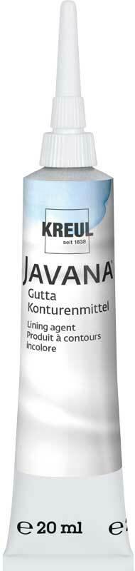 Javana peinture contours - 20 ml, incolore