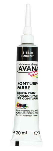 Javana Konturenfarbe - 20 ml, schwarz