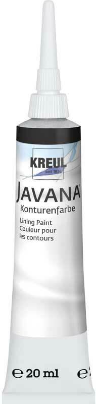 Javana contourmiddel - 20 ml, zwart
