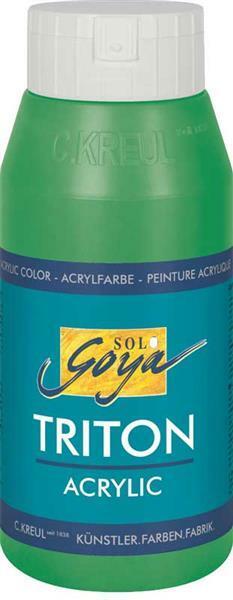 Triton Acrylic - 750 ml, permanentgrün