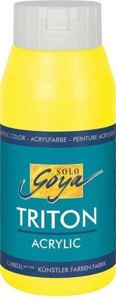 Triton Acrylic univ. verf - 750 ml, citroen