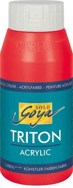 Triton Acrylique univ. - 750 ml, rouge cerise