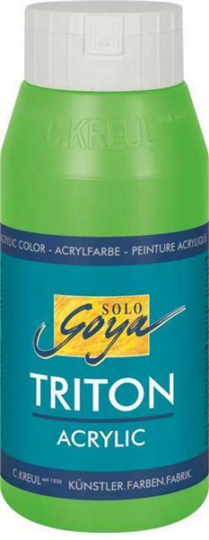 Triton Acrylic univ. verf - 750 ml, geelgroen