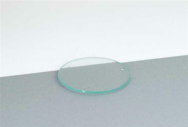 Sous-plat en verre - rond, Ø 10 cm