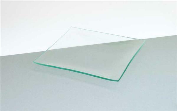 Glasteller - quadratisch 19 x 19 cm