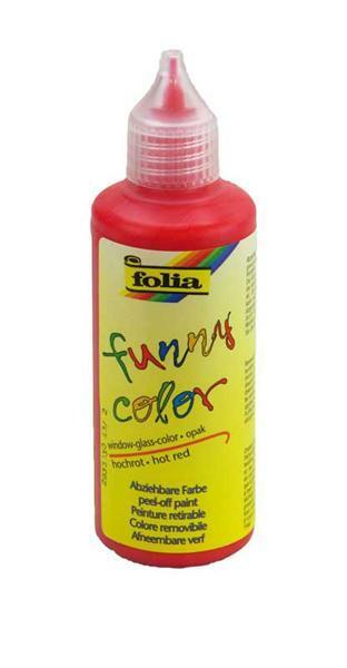 Window Color - 80 ml, rood