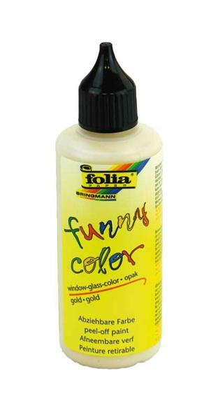 Window Color - 80 ml, gold