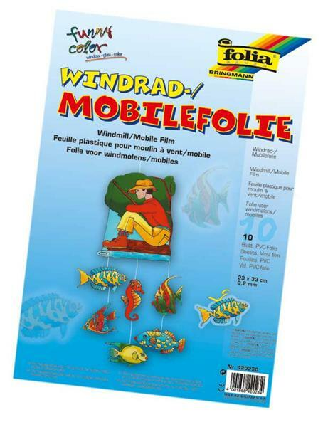 Mobiel folie - 230 x 330 x 0,4 mm, 10 Stk.