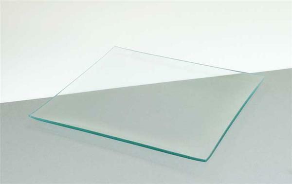 Glazen bord - vierkant, 25 x 25 cm