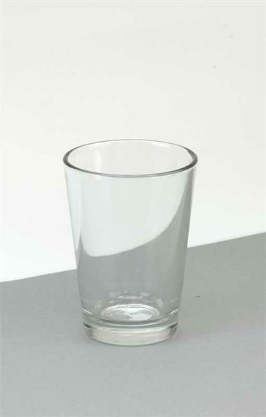 Glazen vaas - conisch, 11 cm