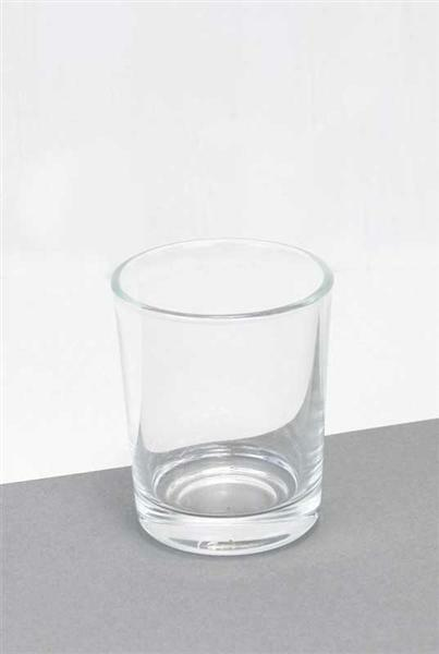 Rond glas, 9 x Ø 7,5 cm
