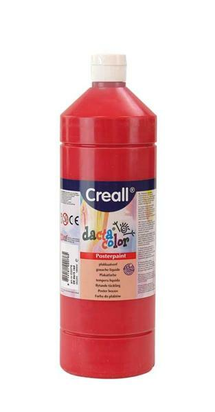 Dacta color - 1000 ml, donkerrood