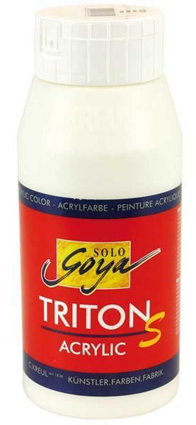 Triton S Acrylic weiß, mit Glanz - 750 ml