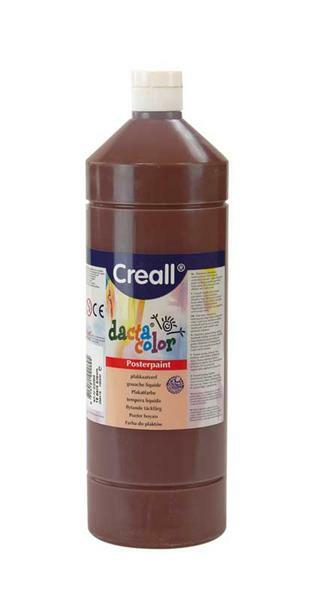 Dacta color - 1000 ml, donkerbruin