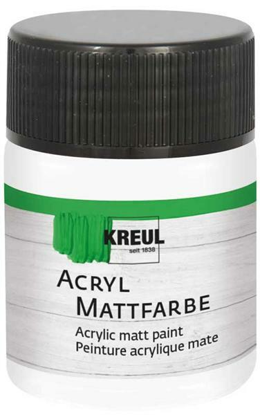 Matte acrylverf - 50 ml, wit