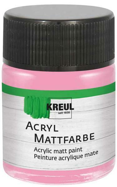 Acryl Mattfarbe - 50 ml, himbeere