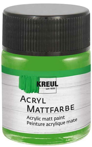 Matte acrylverf - 50 ml, lichtgroen