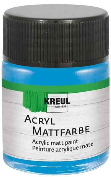 Matte acrylverf - 50 ml, lichtblauw
