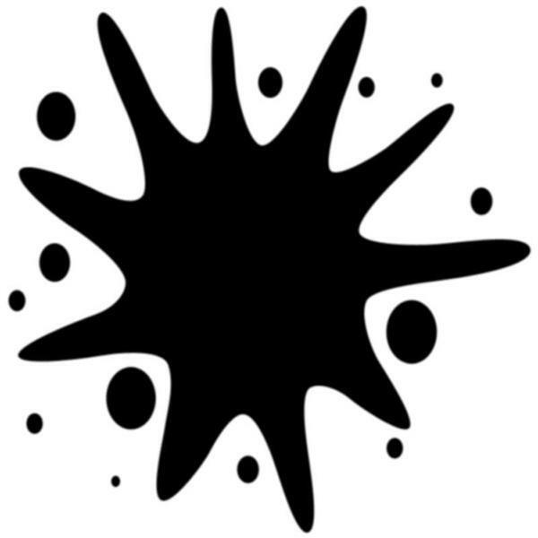 Acryl Mattfarbe - 50 ml, schwarz