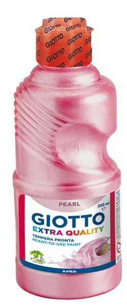 Giotto Temperaverf - 250 ml, parelmoer, magenta