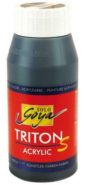 Triton S Acrylic schwarz, mit Glanz - 750 ml