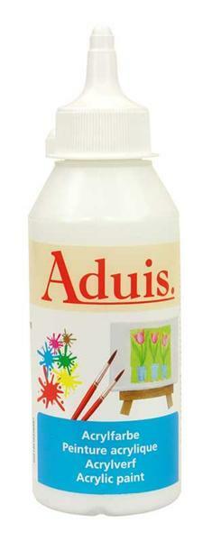Peinture acrylique Aduis - 250 ml, blanc