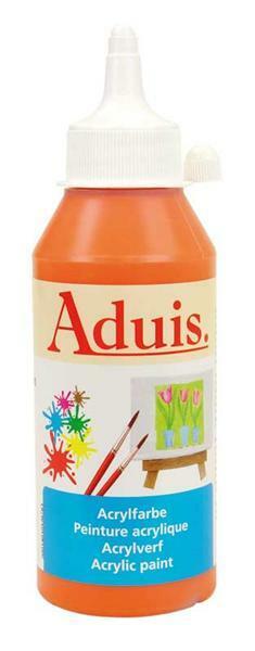 Aduis acrylverf - 250 ml,  echt oranje