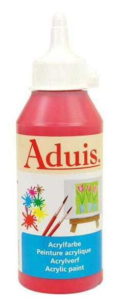 Aduis Acrylfarbe - 250 ml, echtrot