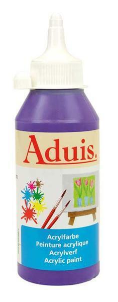 Peinture acrylique Aduis - 250 ml, violet